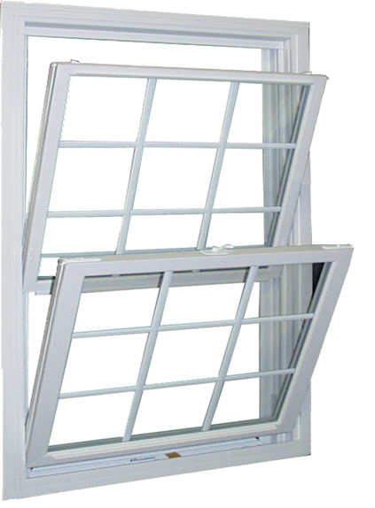 DH1000 – REPLACEMENT DOUBLE HUNG WELDED FRAME & NEW BEVELED SASH Image